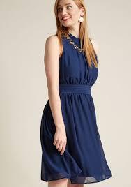 navy blue dress windy city a line dress in navy modcloth