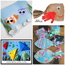 creative fish crafts kids crafty morning