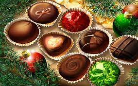 christmas chocolates christmas wallpaper 2012 christmas chocolates wallpaper for computer