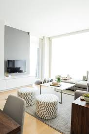 Scandinavian Area Rugs by Grey Accent Wall Living Room Scandinavian With Gray Basket