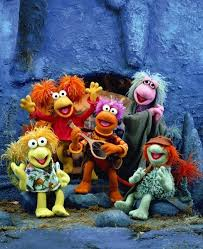 Fraggle Rock Meme - barking alien down and out in fraggle rock