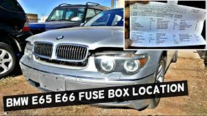735d bmw bmw e65 e66 fuse box location and diagram 745i 745li 750i 750li