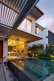 home design story pool stylishly simple modern one story house design story house