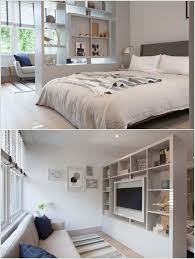 17 Headboard Storage Ideas For Your Bedroom Bedrooms Spaces And by 17 Ideas For Decorating Small Apartments U0026 Tiny Spaces Tiny