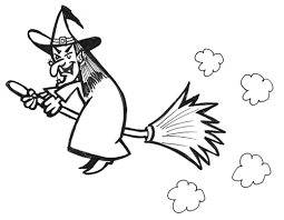 coloring page extraordinary how to draw witches coloring page