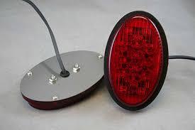 vw led tail lights technostalgia 1956 61 vw led tail lights