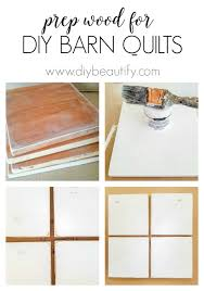 How To Make A Barn Quilt Vintage Inspired Mini Wood Barn Quilts Diy Beautify