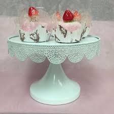 metal cake stand ebay