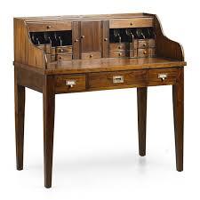bureau secr aire bois secrétaire style colonial en acajou bureau bois massif