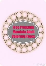 free printable mandala coloring pages finding sanity