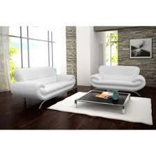 canapé simili blanc decoration canapé design 3 2 noir et blanc simili cuir