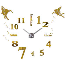 wholesale 25 u0027 u0027 40 u0027 u0027 large oversized diy 3d wall clock angel