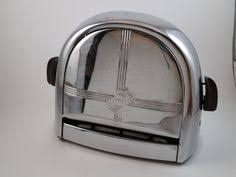 Art Deco Toaster Vintage Toaster Ge General Electric Chrome Mid Century By Kimbuilt