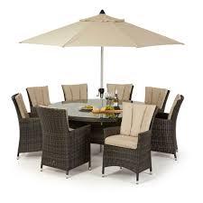 modern rattan garden furniture sofa set lounger 8 seater outdoor