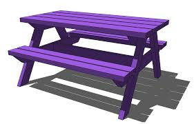 kids picnic table plans bench work access diy childrens picnic table plans