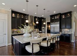 Kitchen Colors With Black Cabinets Most Popular Cabinet Paint Colors Stained Kitchen Cabinets
