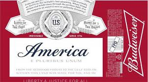 3 e bureau label america replaces budweiser on labels for summer caign hip hops