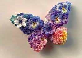 Crochet Designs Flowers The 25 Best Crochet Blanket Flower Ideas On Pinterest Crochet