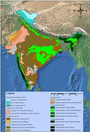 World Biomes Map by The Biome And Sub Biome Life Zone Distribution In India