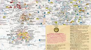 Beer Map Map Germany