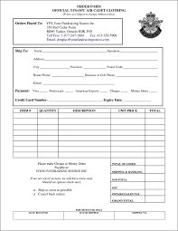 Free Cheque Template Clothing Order Form Template Free Besttemplates123 Sample
