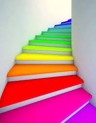 Narrow Staircase Design Colorful Staircase Designs 30 Ideas To Consider For A Modern Home
