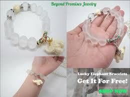 gold lucky charm bracelet images Amazing lucky elephants bracelet gold silver free shipping jpeg