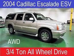 cadillac escalade limited edition 2004 cadillac escalade esv for sale carsforsale com