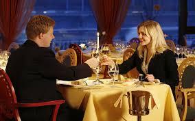 romantic dinner raised cups wine toast love couple wallpaper