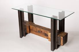 credenza table sectioned track console credenza table no 67 custom
