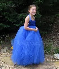 flower dress royal blue tutu dress baby toddler sapphire