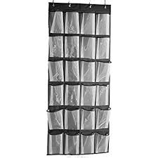 shoe rack hanging amazon com misslo sturdy hanging over the door shoe organizer with