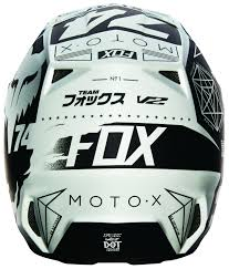 closeout motocross helmets fox racing v2 union helmet cycle gear