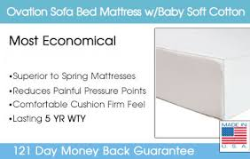 Sofa Bed Mattress Replacement by Sofa Mattress Sofa Mattress Replacement Ovation Sofa Mattress