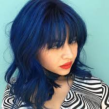 saphire black hair this beautiful navy blue created by richardatkuthaus using color