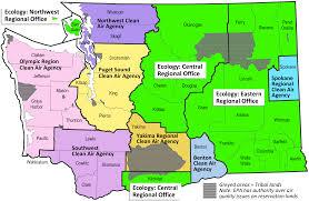 Washington State Map by Jlarc Report Gas Vapor Regulations