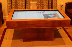Touch Screen Coffee Table by Touch Screen Coffee Table 2 0 U2013 Automated Maker