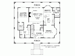 1 house plans with wrap around porch eplans country house plan wrap around porch captures every