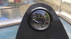 installing temperature sensor u0026 gauge on outboard boat motor youtube