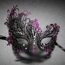 masquerade masks for women venetian swan party masquerade mask with rhinestones and bling