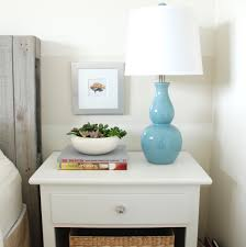 Lamp For Nightstand Led Bedside Table Lamps With Luxury Crystal Lamp Best Inspiration