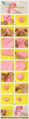 How To Make Paper Umbrellas - step guide for paper umbrella crafts paper
