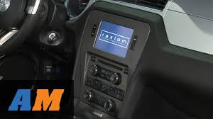 mustang navigation mustang raxiom oe style gps navigation w bluetooth back up