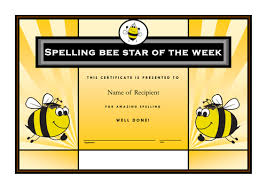 updated year 5 2014 spelling bees multi task scheme by