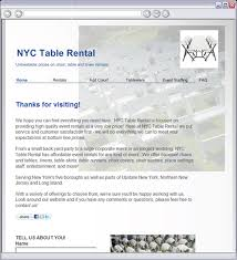 table rentals nyc nyc table rental home