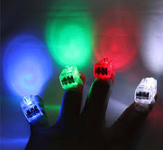 online buy wholesale halloween led light from china halloween led 4 x colorful finger light toy battery power led ring great props