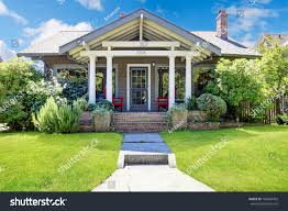 small craftsman style american old house stock photo 160994492