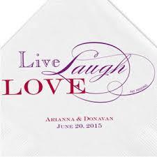 love live laugh live laugh love personalized napkins 50 pcs personalized