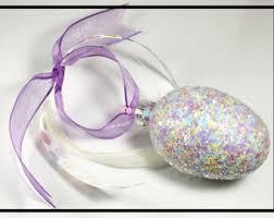glitter easter egg ornaments easter decoration easter decor easter ornaments easter egg