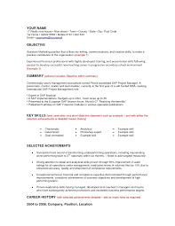 Accounting Resumes Examples by Entry Level Accounting Resume Objective Best Business Template